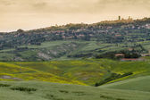 Tuscany landscape around Pienza, Val d'Orcia, Italy — ストック写真