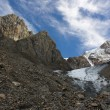 Mountain landscape. Glacier Small Actru. Mount Altai. — Stock Photo