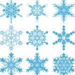 Snowflake vectors — Stock Vector #32357423