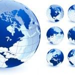 Globe collection — Stock Vector #6087355