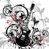 Tema musical — Vector de stock