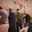 Prayers at Wailing Wall in Jerusalem — Stock Photo #12482599