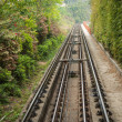 Stock Photo: Rail way