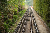 Rail way — Stock Photo