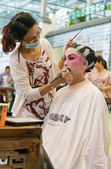 Chinese operas makeup — Stock Photo