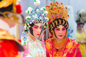 Chinese operas — Stock Photo