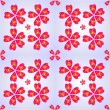Flower pattern - Stock vektor