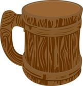 Beer mug — Stock Vector