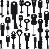 Keys — Stock Vector