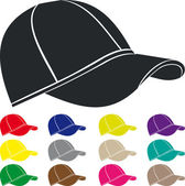 Man's cap — Vector de stock