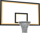 Basketball basket — Vecteur