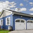 Two car garage — Stock Photo #16628327