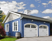 Two car garage — Stock Photo