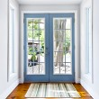French patio glass door - Foto de Stock