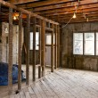 Home interior gutted for renovation — Stock Photo #16852875