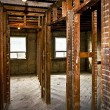 Home interior gutted for renovation — Stock Photo #16852881