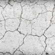 Dry cracked ground during drought - Stock Photo