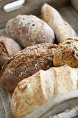 Bochenków chleba — Zdjęcie stockowe