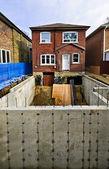 Adição de construção de casa — Foto Stock