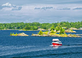 Boat on Georgian Bay — Stock Photo