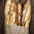 Baguettes bread — Stock Photo