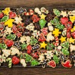 Homemade christmas cookies — Stockfoto