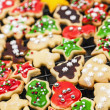 Homemade christmas cookies — Stockfoto #27799991