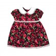 Handmade dress for baby girl — Stockfoto