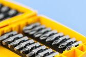 Screwdriver insert bits — Stock Photo