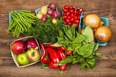 Market fruits and vegetables — Stock Photo