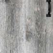 Old barn wood door — Stock Photo