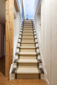 Basement stairs in house — Stock Photo