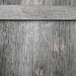 Old barn wood door — Stock fotografie