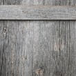 Old barn wood door — Stockfoto