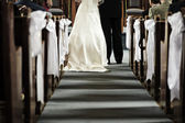 Matrimonio in chiesa — Foto Stock