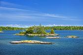 Islands in Georgian Bay — Stock Photo