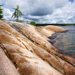 Stock Photo: Rocky shore in Georgian Bay