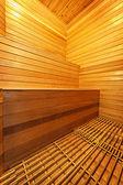 Sauna interior — Stock Photo
