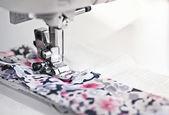 Sewing machine needle — Stock Photo