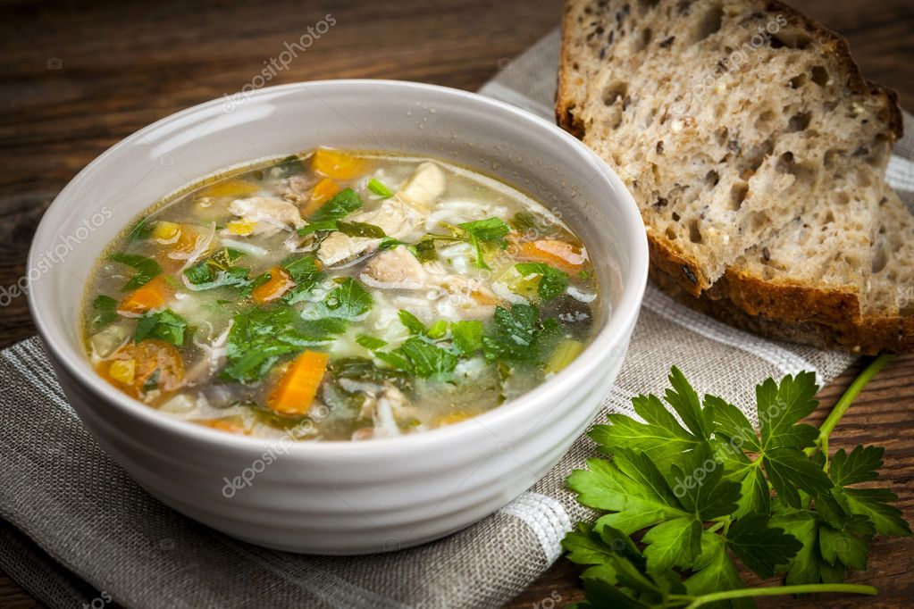 Chicken Soups And Stews Chicken Rice Soup With