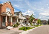 Suburban homes — Stock Photo