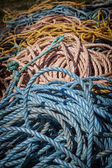 Fishing ropes — Stock Photo