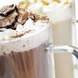 Hot chocolate and coffee beverages — Stock Photo #4466481