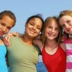Four girls — Stock Photo #4826013