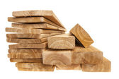 Lumber planks and boards — Stock Photo