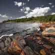 Постер, плакат: Rocky shore of Georgian Bay