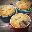 Homemade meat potpies — Stock Photo #51021987