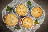Homemade meat pies — Stock Photo
