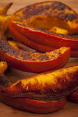 Roasted pumpkin close up — Stockfoto
