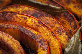 Roasted pumpkin closeup — Stock Photo